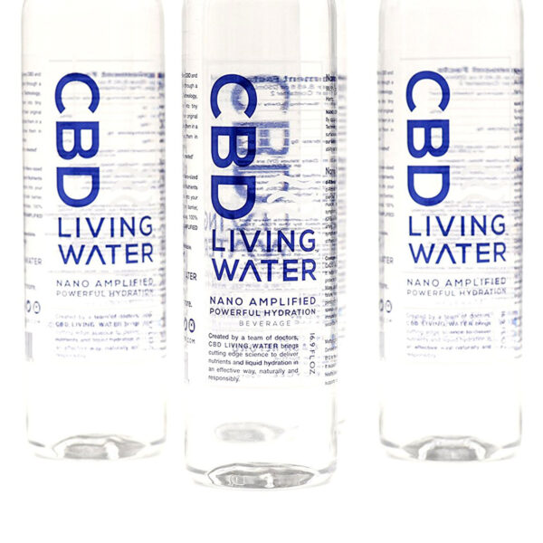 cbd water back