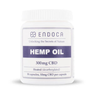 endoca cbd oil capsules 300mg