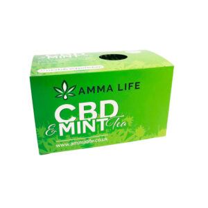 amma life cbd mint tea